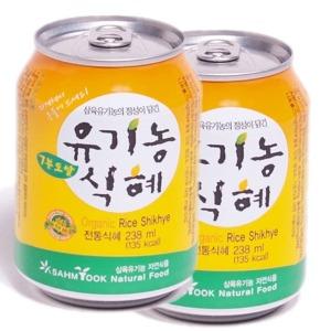 7분도 쌀식혜 (238mlx24캔) 유기농식혜 전통식혜