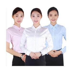 여성와이셔츠 여자반팔셔츠 교복남방 (44-88size)