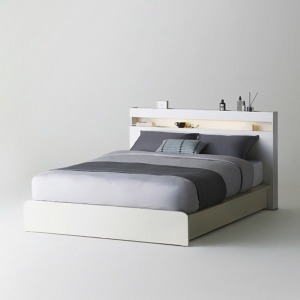 샘베딩 클로즈 침대 Q/K겸용 화이트 (매트별도)