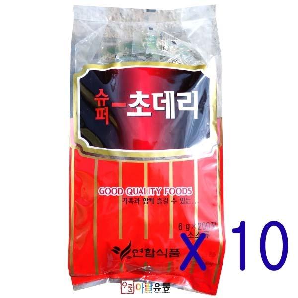 연합식품/초데리(냉면용식초) 6g/박스