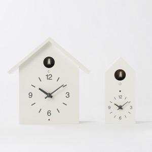 무인양품 뻐꾸기 시계 2종(일본 무지 한정)벽/테이블