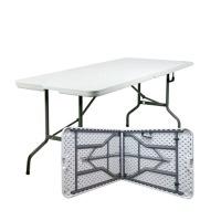 행사용/간이/캠핑용/브로몰딩테이블 6인1800-접이식