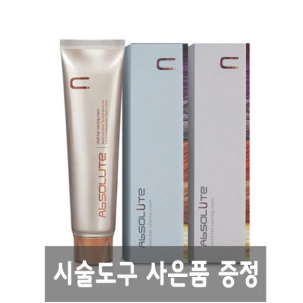 에비뉴 쉬에뜨 앱솔루트 컬러링크림 120g / 앰플증정