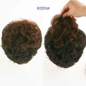 볼륨업포인트/부분가발/앞머리/정수리가발/엄마가발