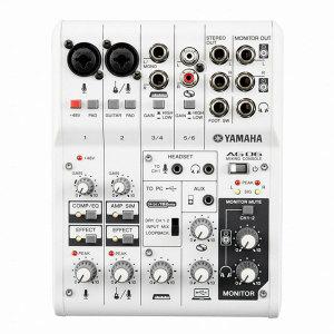 YAMAHA/야마하/AG06/오디오인터페이스/믹서/AG-06