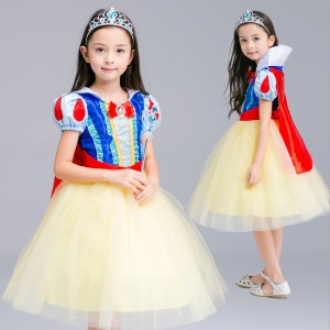 백설공주 원피스 럭셔리 공주 드레스