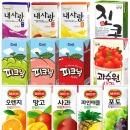 피크닉 200ml x24/델몬트/과수원/음료수/쥬스/두유