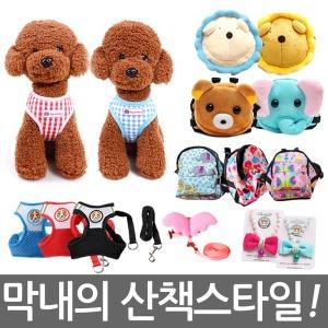 강아지배낭/애견백팩/애견목줄/강아지산책