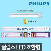호환형 LED형광등 18W/25W LED전구 LED방등 LED거실등