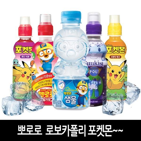 [팔도] 뽀로로음료수235ml 포켓몬 어린이음료 로보카폴리음료