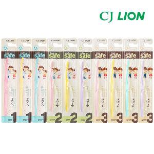 CJ키즈세이프 어린이칫솔 x10/치약x6/유아칫솔