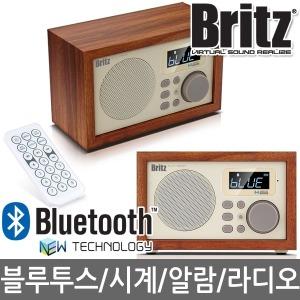브리츠 BA-C1 블루투스 스피커 알람 라디오 탁상시계