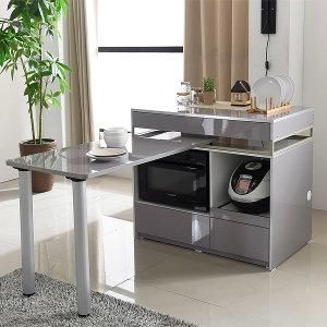 루니스 아일랜드식탁 홈바 일반형/전기렌지매립형