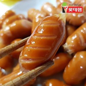 롯데푸드 칼집낸 스모크비엔나1kg 택1