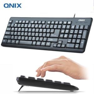 QNIX QK-3000U 키보드 USB 멤브레인 부드러운키감