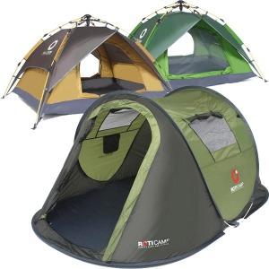 로티캠프 원터치 텐트 방수 자동 캠핑 낚시 팝업