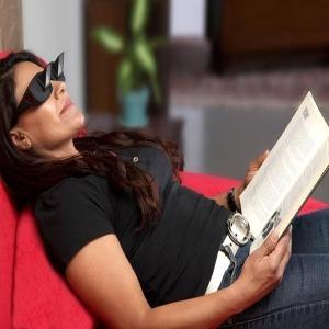 누워서보는 프리즘굴절 아이디어 전현무 안경