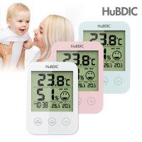 휴비딕 HT-3 외 디지털 벽걸이스탠드형 시계 온습도계