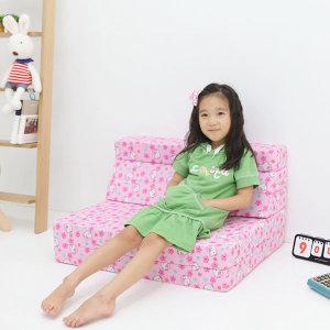 유아쇼파베드 접이식매트리스 어린이소파베드메모리폼