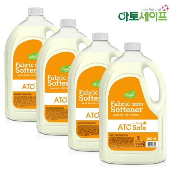 섬유유연제 2.5L 4개/액체세제 2.5L 4개/세탁세제