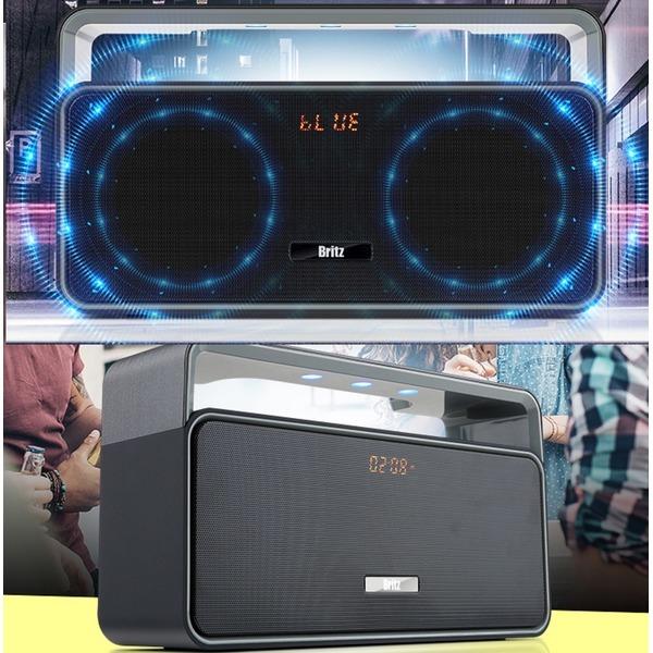 블루투스 미니오디오 MP3 FM라디오 저음보강 AUX -Ml8