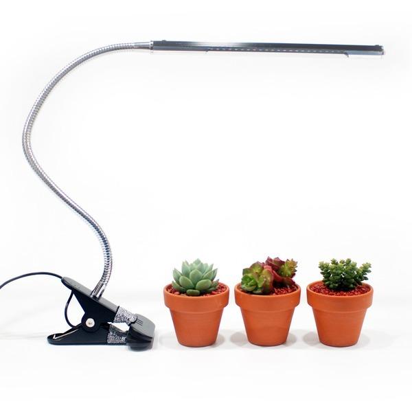 식물조명 LED 5V 원터치 밝기조절 USB자바라집게형