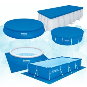 수영장용 덮개 깔개//이물질유입방지/수영장 바닦보호