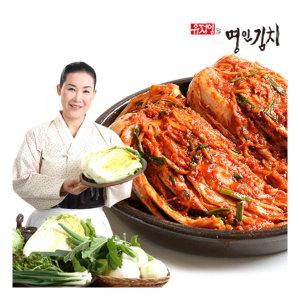 식품명인 유정임의 국내산 포기김치 7kg/10kg 전라도