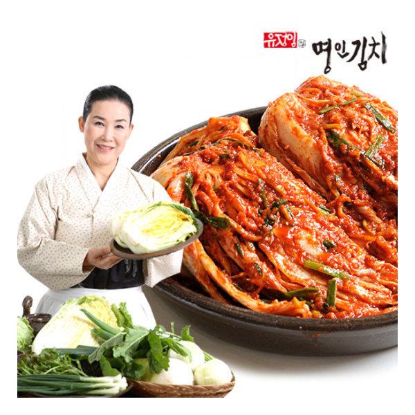 식품명인 유정임의 포기/전라도 김치 7kg/10kg
