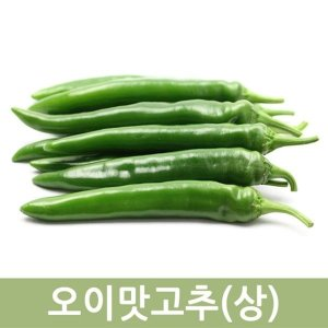 오이맛고추(상) 10kg  두리반농산