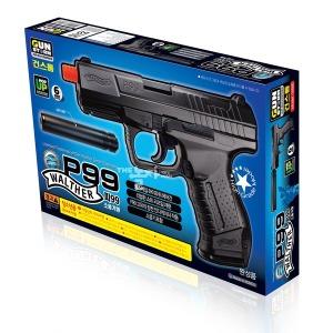 건스톰 P99 소음기형 비비탄총 BB건  WALTHER 피99