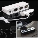 멀티소켓3구 포켓 차량충전기 시거잭 USB 카 자동차