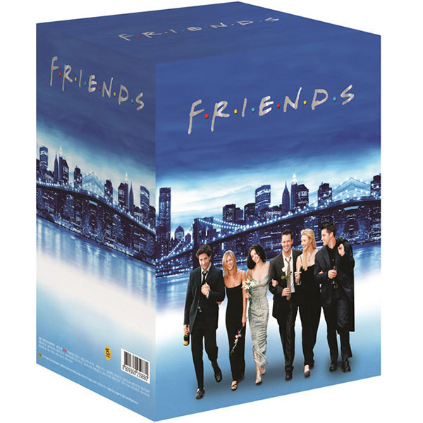 DVD 프렌즈 풀박스세트 40Discs (Blue New Package) 프렌즈박스)
