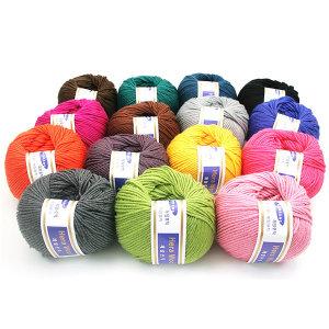 헤라울 (Hera Wool) 64가지 색상 제일모직 45g/85% 울