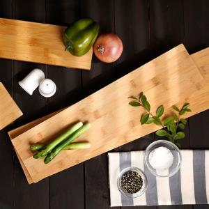 대나무 회 초밥 접시 긴 직사각 그릇 스시 사라 _