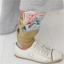 TNT 발목여권지갑. 해외여행용품 파우치 가방 준비물