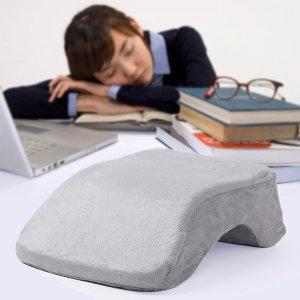 편안한 메모리폼베개 커버형식 세탁가능 책상베개