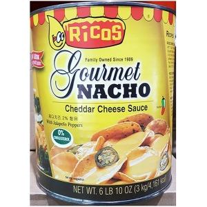 나초 나쵸 리코스 치즈소스(3키로) 체다치즈 소스