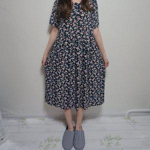 빅사이즈 롱 냉장고원피스 임산부 임부복 편한 옷 ~99
