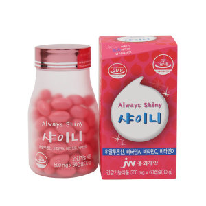 먹는 수분 샤이니 60캡슐 4주/피부 보습/히알루론산/S