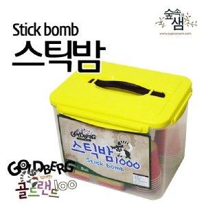 스틱밤세트 1000개 보관함포함 나무스틱 스틱도미노