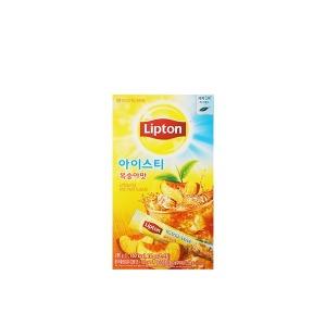 유니레버 립톤 아이스티 복숭아맛 20T/티백 홍차 허브