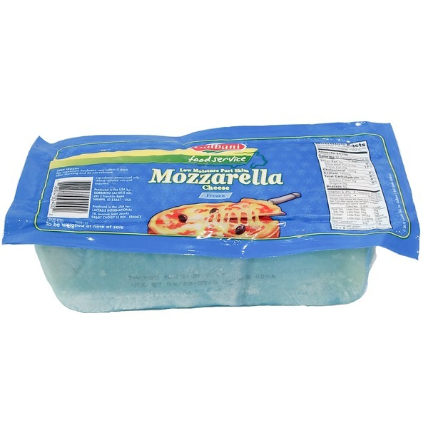 (쏘렌토 치즈) 갈바니 냉동 모짜렐라 치즈 2.27kg