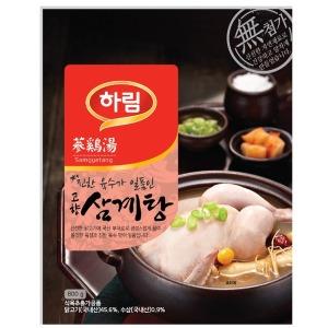 고향 삼계탕800gx6봉/즉석/전복/간편식/건강식/하림