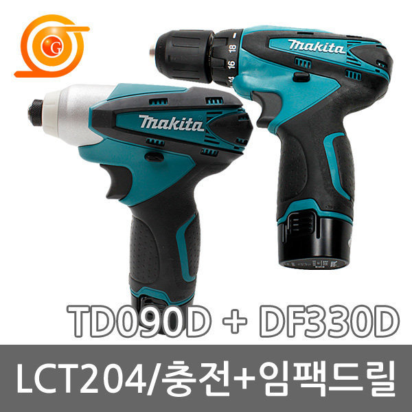 마끼다 LCT204 충전콤보세트 10.8V 1.3AH DF330+TD090