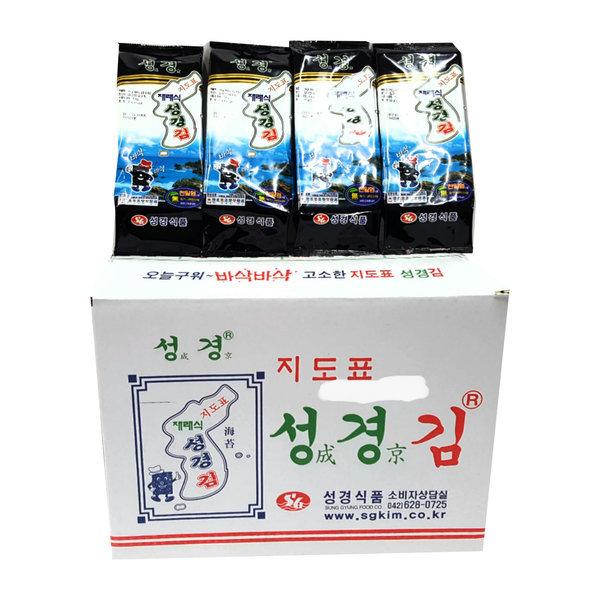 지도표 성경재래조각김 1박스 (50gX20봉)