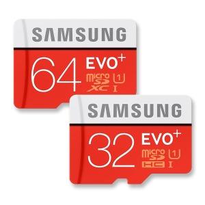 삼성전자 microSD EVO Plus 32GB / 64GB 메모리카드