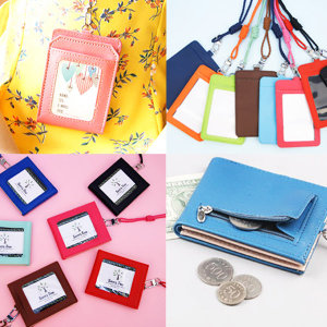 카드 지갑 목걸이 동전 명함 반 교통 신분증