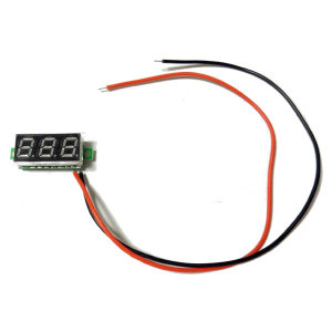 디지털 전압계/12v/24v/매립형/볼트메터/게이지