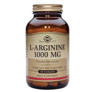 (3개)솔가 아르기닌 L-Arginine 1000mg 90정